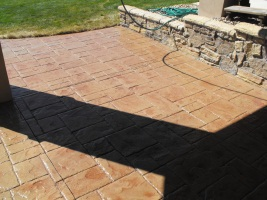 patio staining